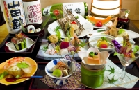 Creative Japanese Course to Enjoy Hokkaido Foods (9 course items)